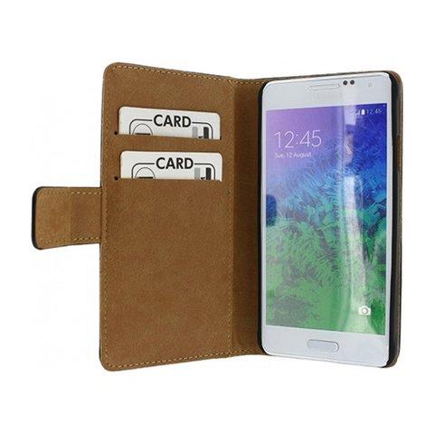 Slim Wallet Book Case Samsung Galaxy Alpha