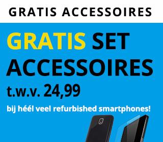 Gratis Mobilize screenprotector bij héél veel refurbished smartphones!