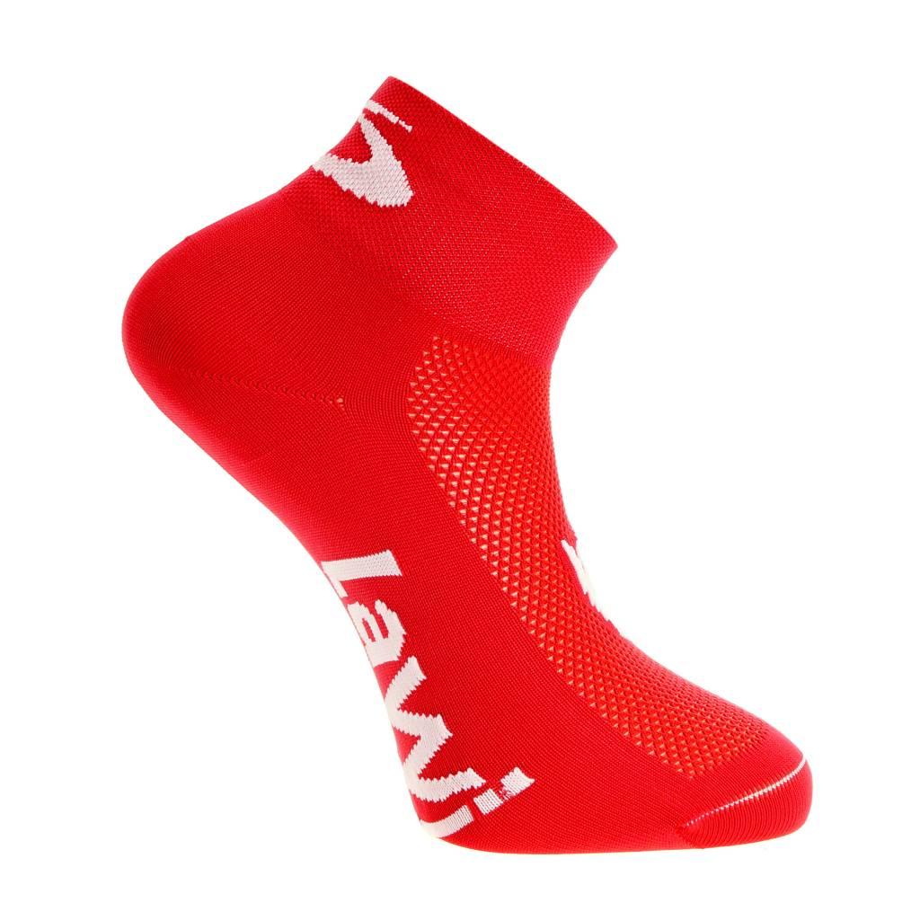 Bike socks short the luxury red / white