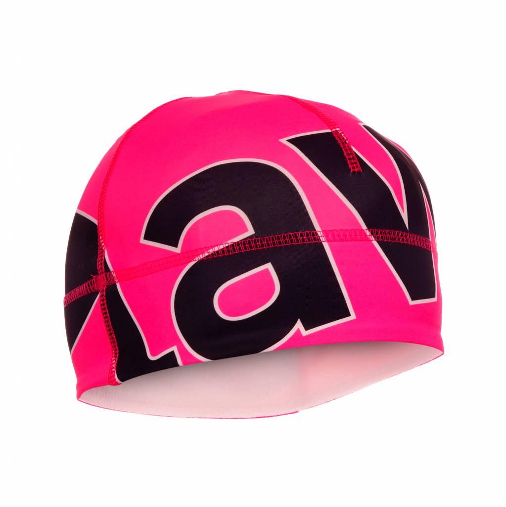 Lawi muts fluor roze/zwart