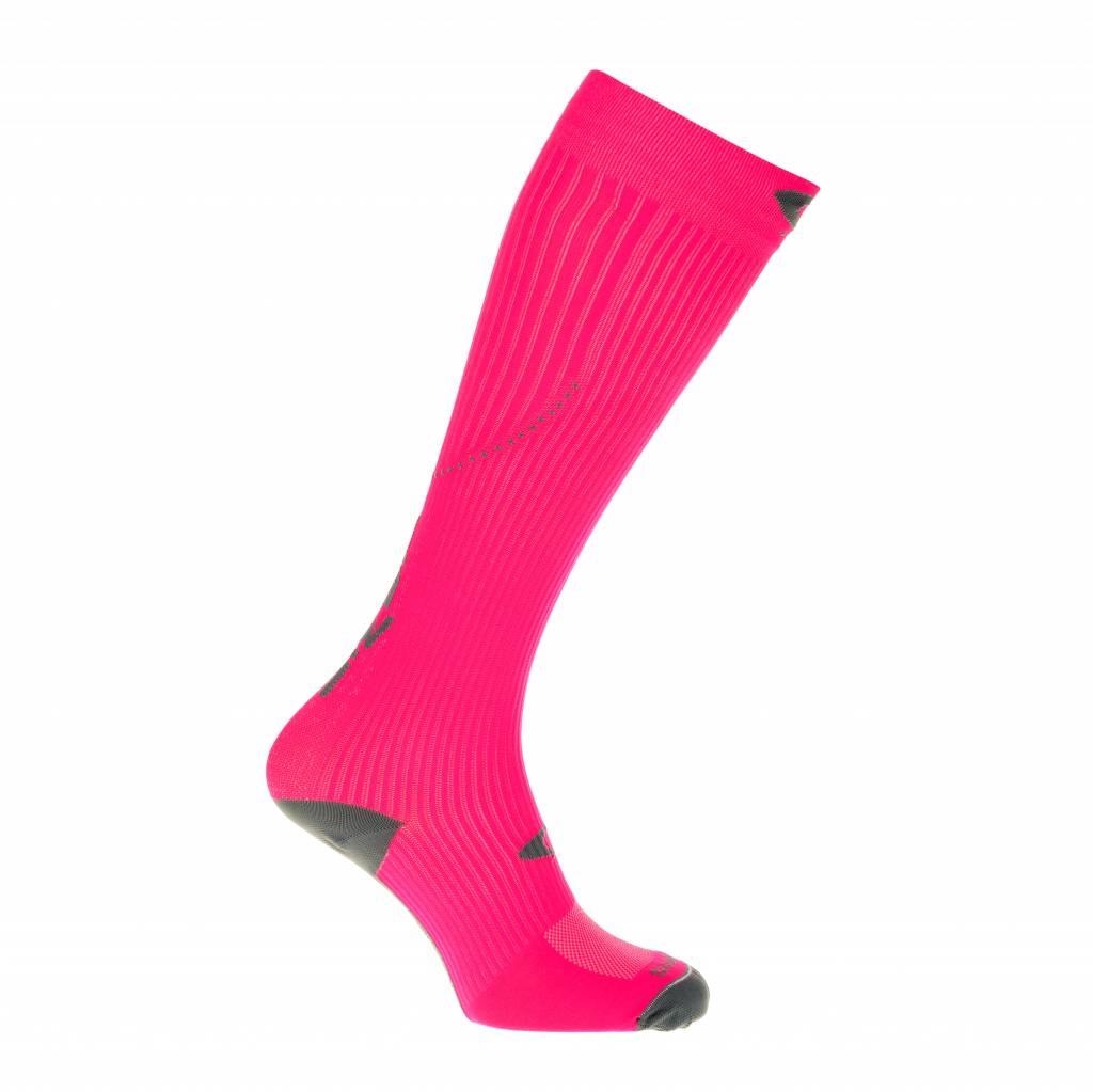 Compressiekousen fluor roze