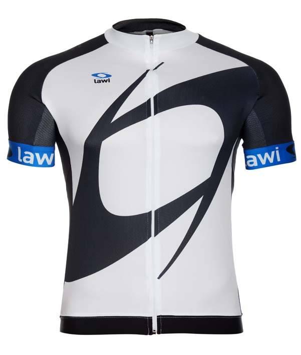 Heren fietsshirt Original blauw
