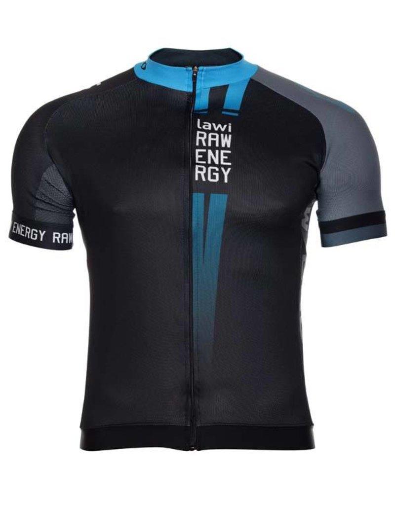 Heren Fietsshirt Raw Energy blauw