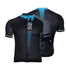 Men Cycling jersey raw energy blue