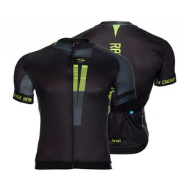 Men Cycling jersey raw energy fluor green