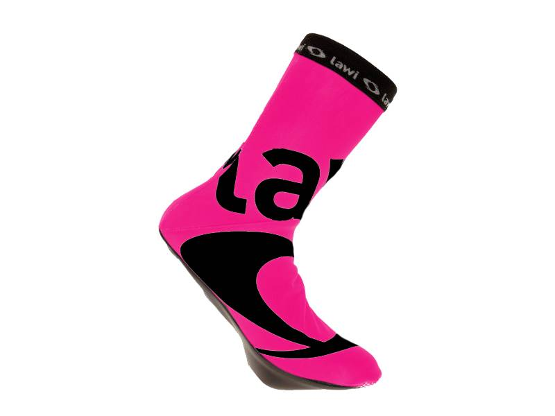 overshoes Pink padded (softshell)