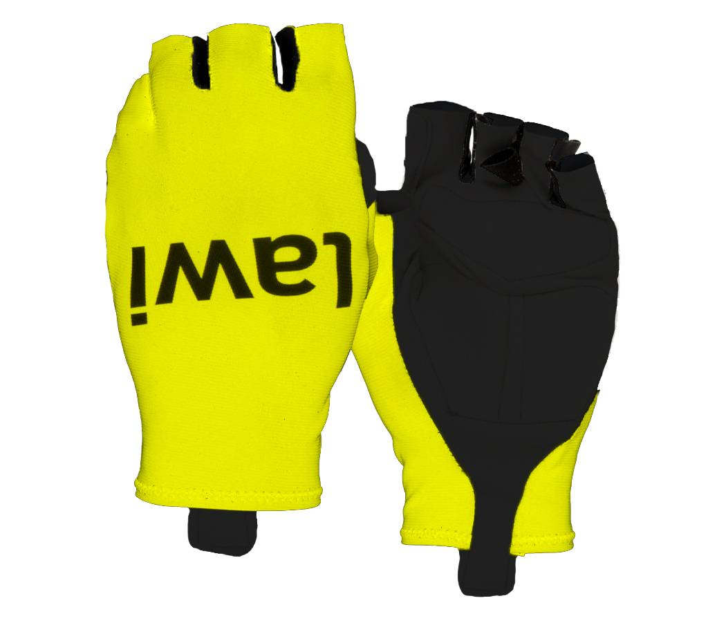 Cycling gloves aero Yellow