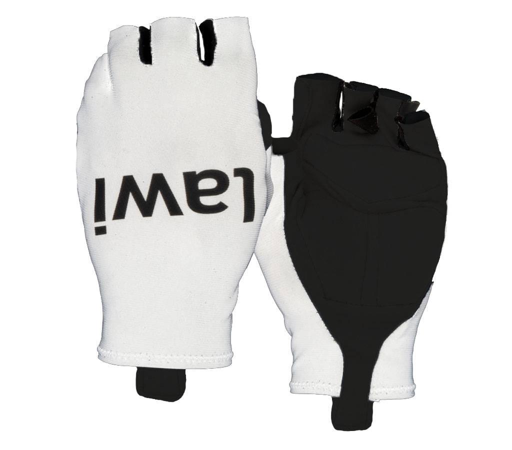 Cycling gloves aero White
