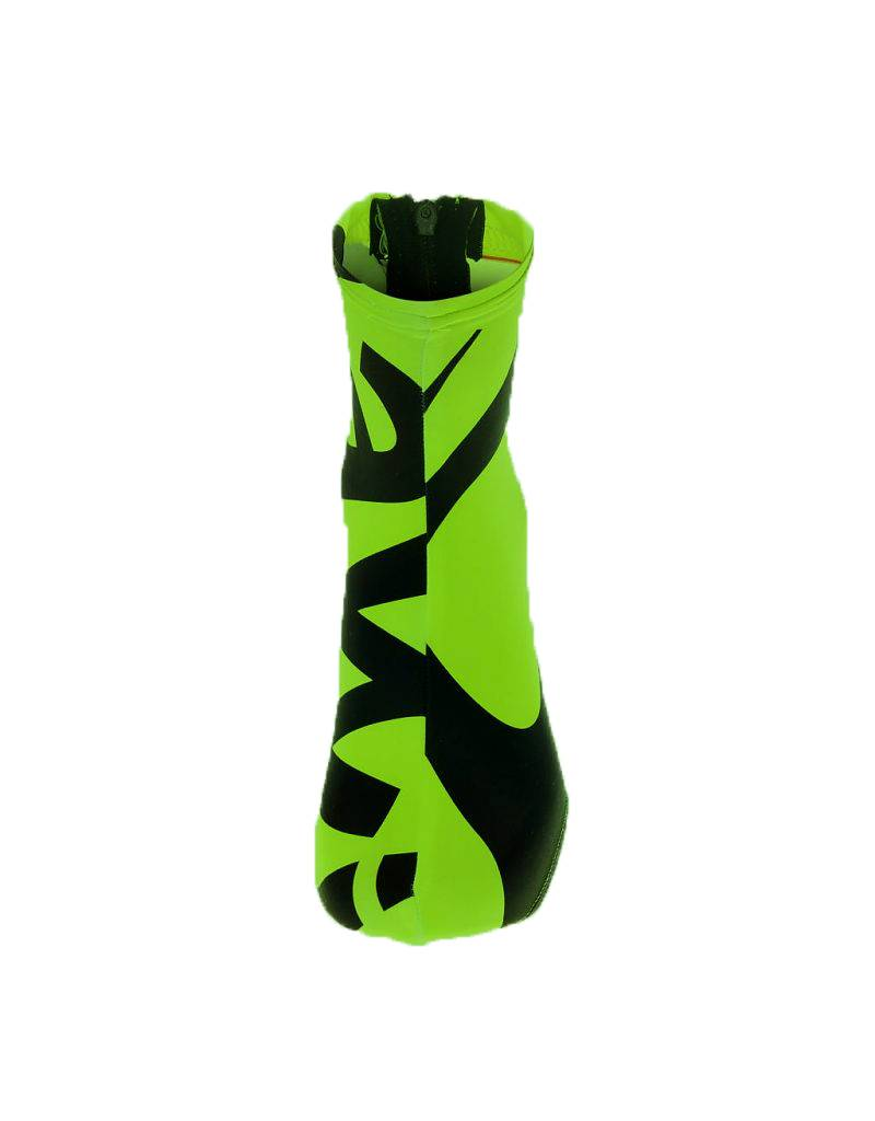 Lawi overschoenen lycra groen/zwart