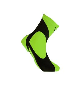 Lawi overschoenen lycra zwart fluor groen