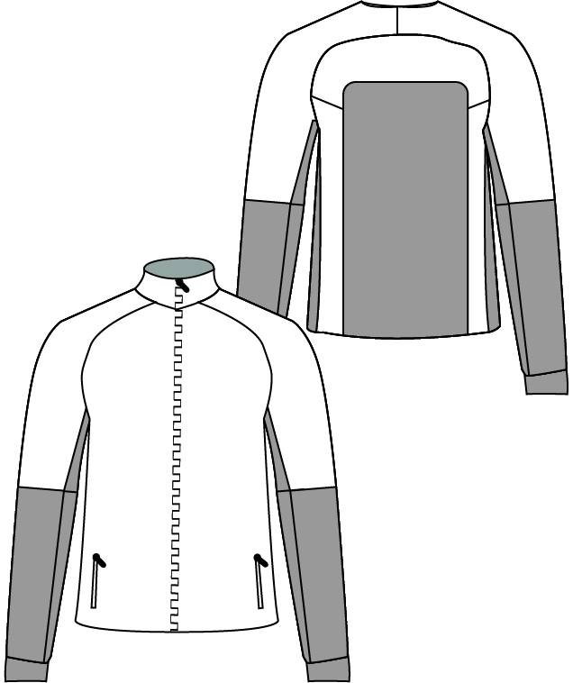 12012 Training jacket Active