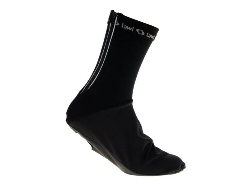 Lawi overschoenen gevoerd zwart (softshell)