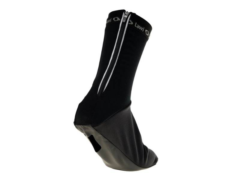 Overshoes black padded (softshell)