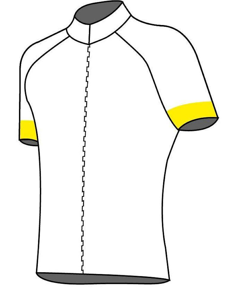 10006 Cycling Jersey Coolplus with Luxe lycra strap (4cm)