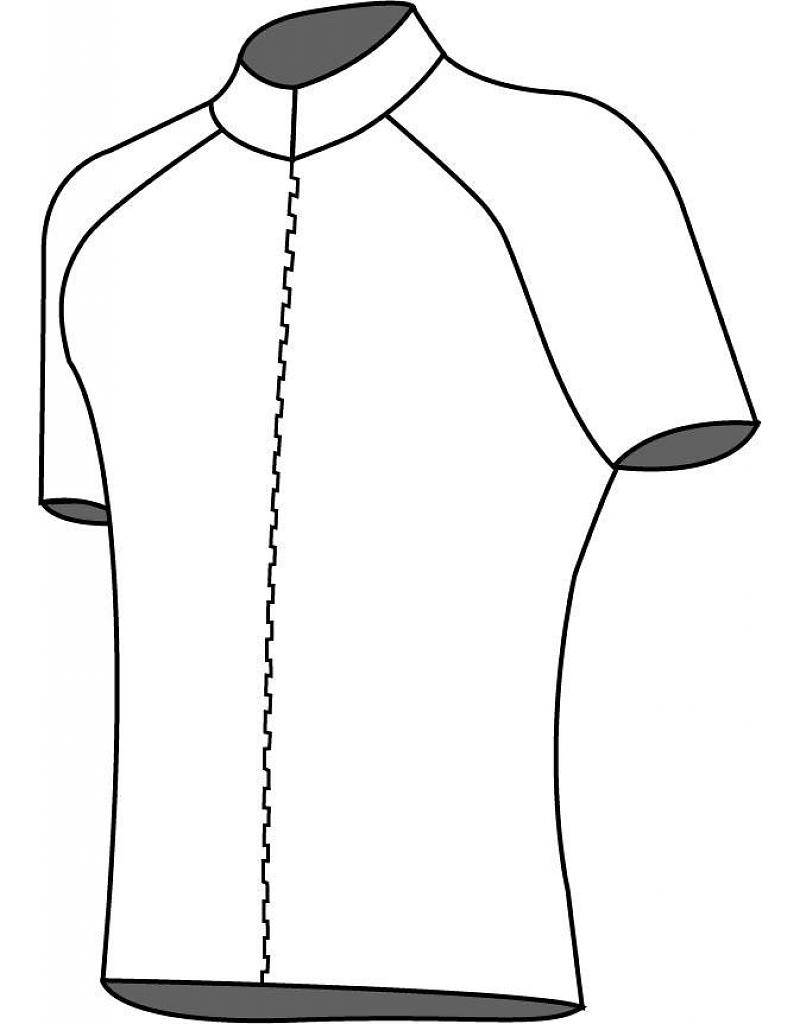 10101 Cycling Jersey Kids Grid