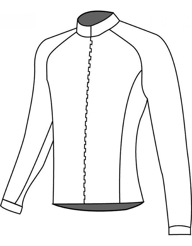 10203 Cycling jersey long sleeve Coolplus