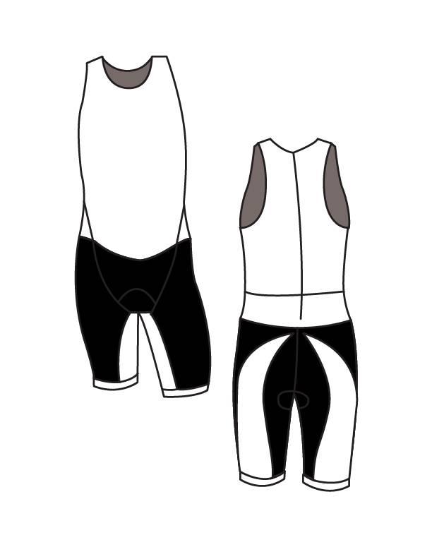 11001 Triathlonpak de Luxe Unisex