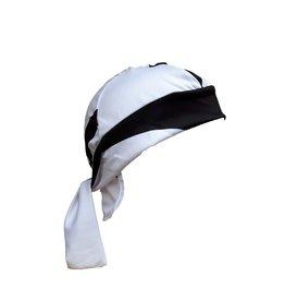 Bandana White-Black