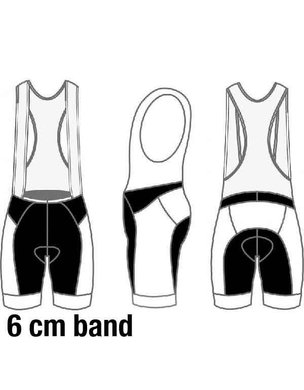 10408 Men de Luxe + GT cycling shorts