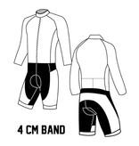 10641 RR suit Men de Luxe Pro Long sleeve