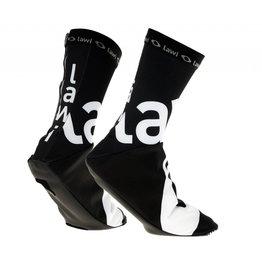 Overshoes black-white padded (softshell)