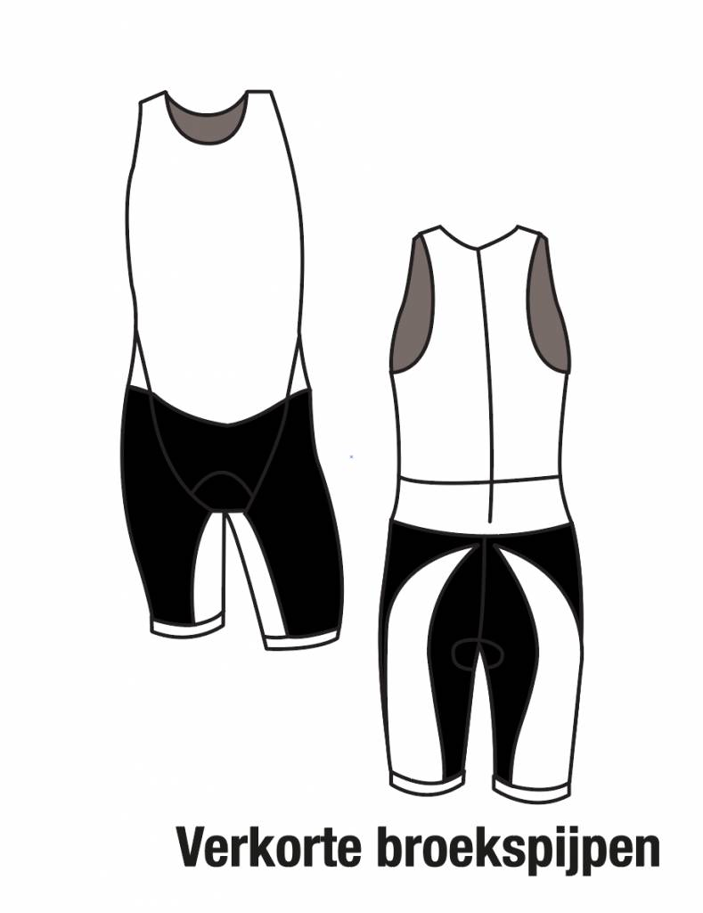 11001K Triathlonpak de Luxe Unisex verkort