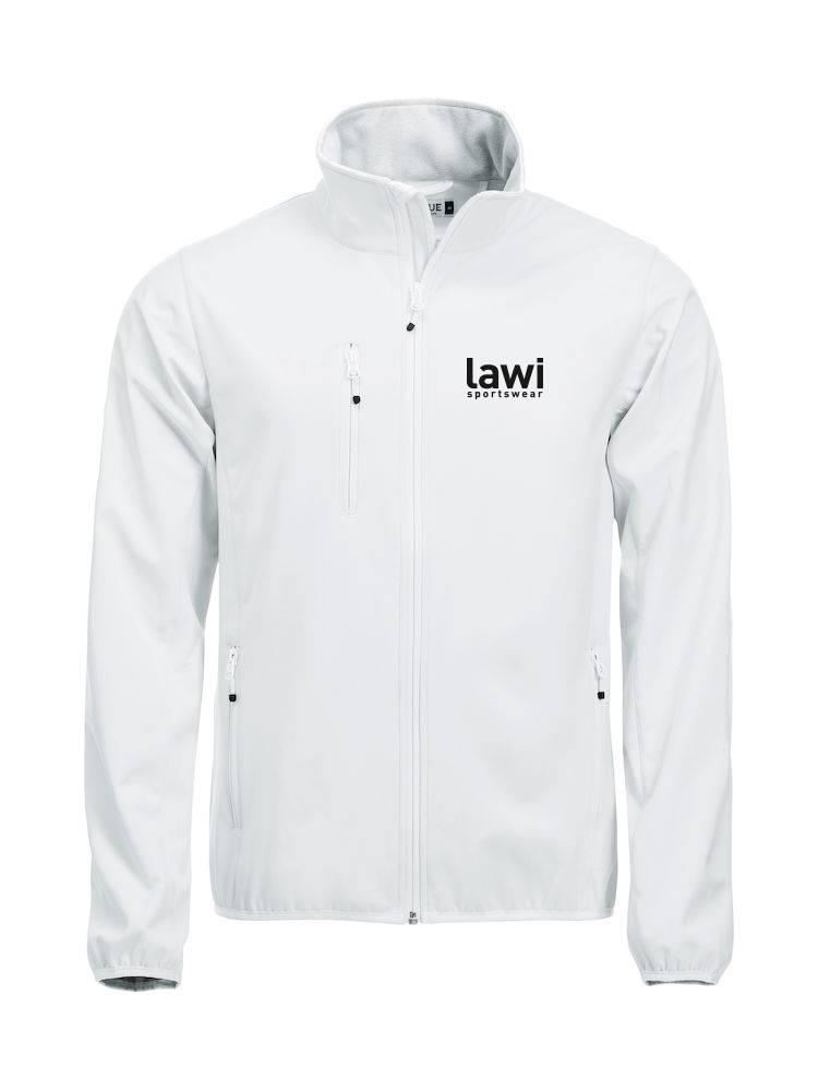 80102 Basis Softshell Jacket 1x Bedrukt