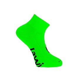 90134 - Fietssokken kort Zorbig fluor Groen