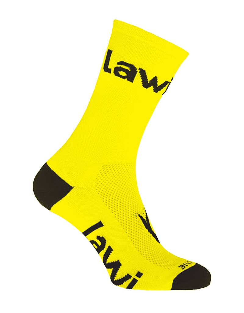 Bike socks long Zorbig Yellow