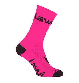 Socks long Zorbig fluor Pink