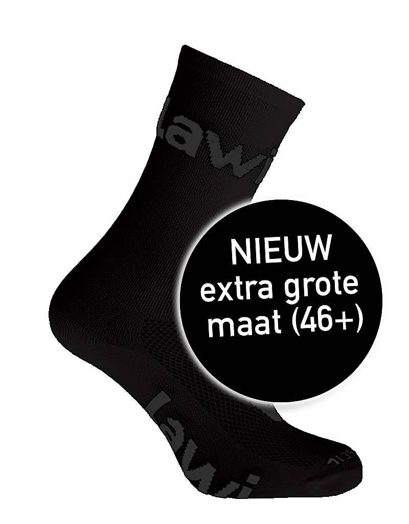 Bike socks long Zorbig Black