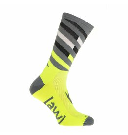 Bike socks long Relay fluorine