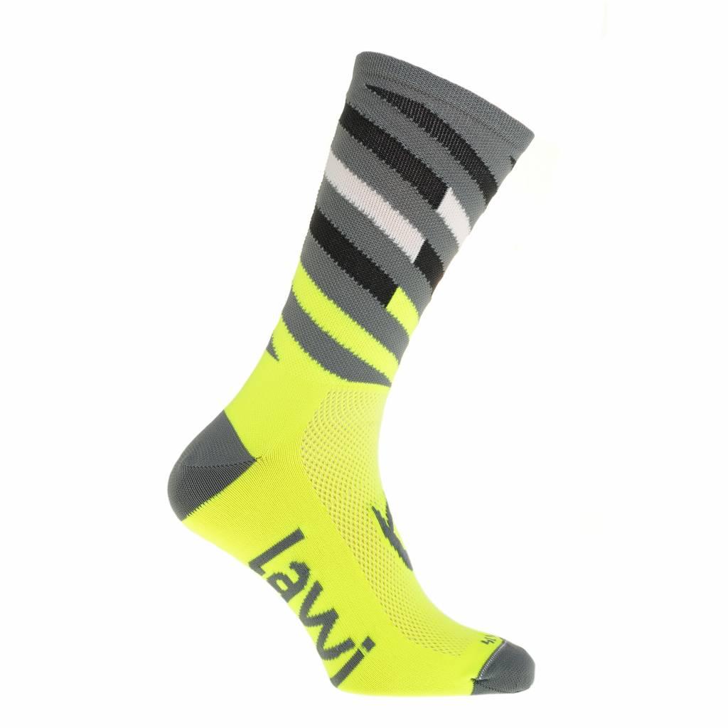 Bike socks long Relay fluorine