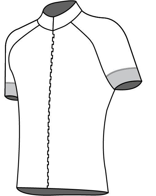 10103 - Bike shirt Raster de Luxe