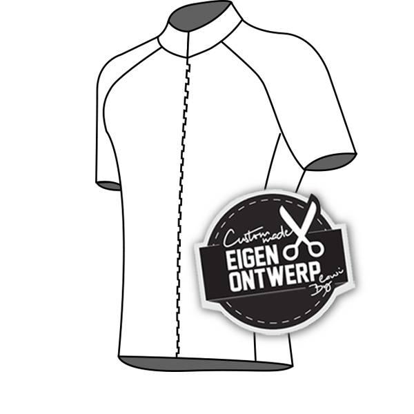 10122 - Cycling jersey Presto (blind zip)