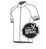 10123 - Fietsshirt Raster de Luxe (blinde rits)