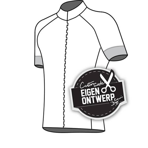 10124 - Fietsshirt Presto de Luxe (blinde rits)