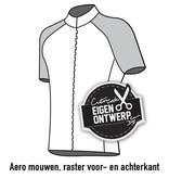 10125 - Fietsshirt Arioso (blinde rits)