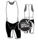 50001- Trisuits (mouwloos) De Luxe Unisex