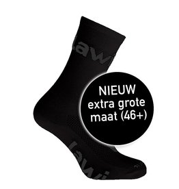 90101- Bike Socks long Zorbig Black