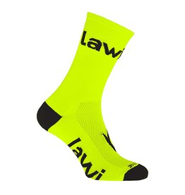 90104 - Bike socks long Zorbig fluor Yellow