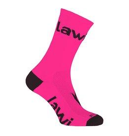 90105 - Bike socks long Zorbig fluor Pink