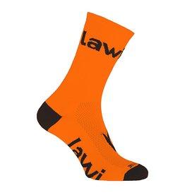 90107 - Bike socks long Zorbig fluor orange