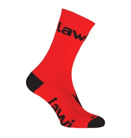 90108 - Long sorbig red bike socks