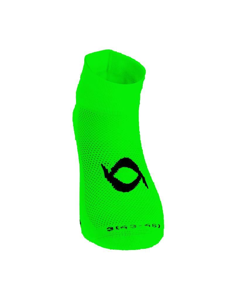 Cycling socks short Zorbig fluor Green