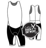 FS50011 - Trisuits (mouwloos) Shark