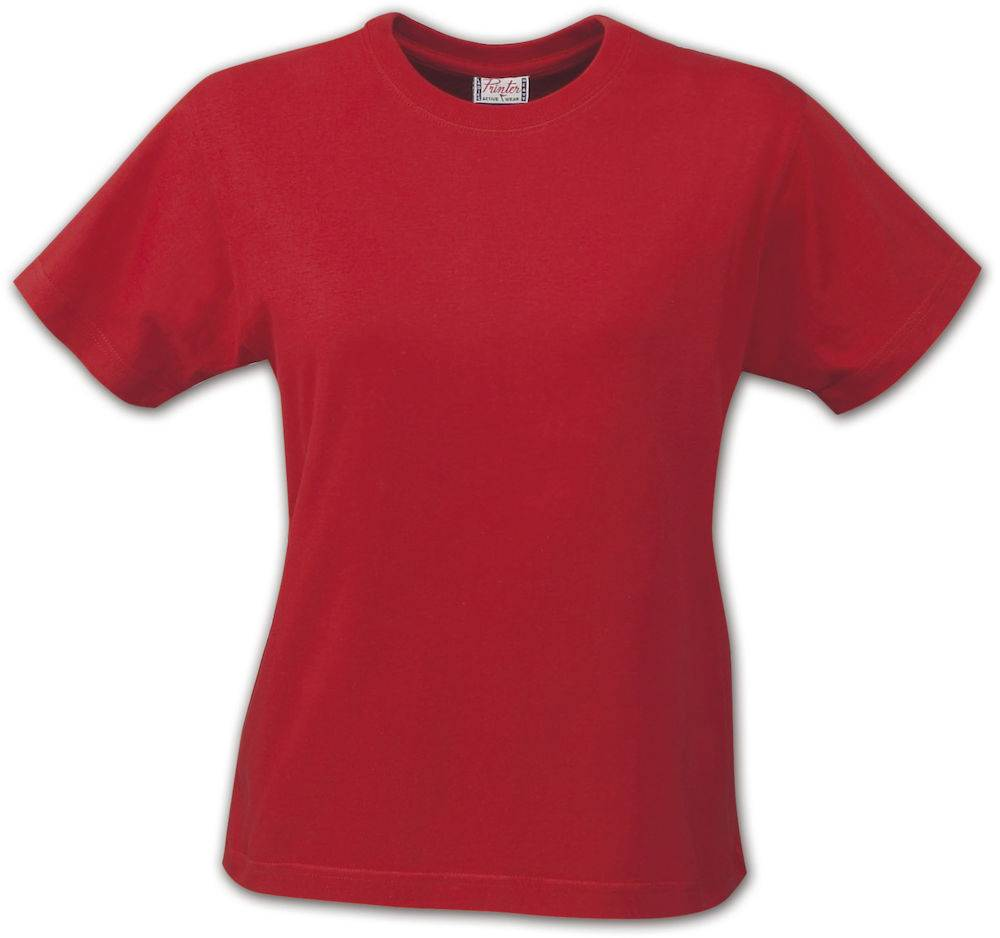 FS80034 - T-shirt Short Sleeves Heavy T Lady rood