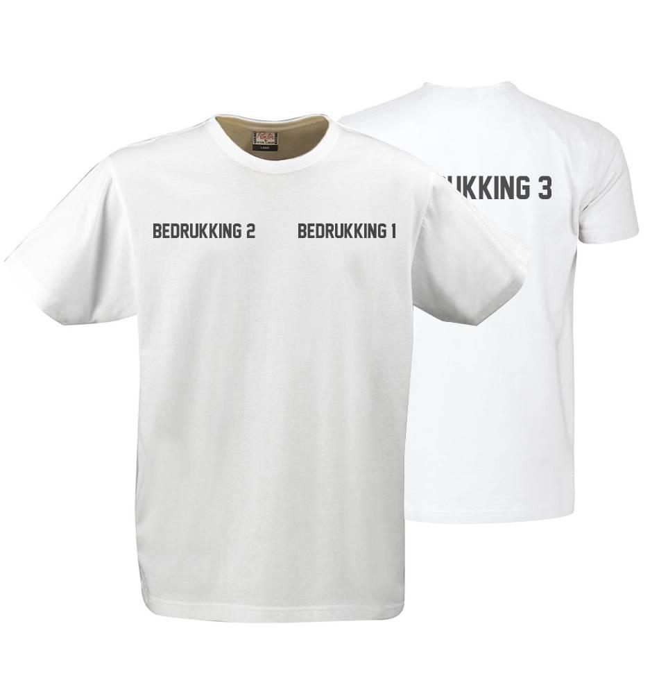 FS80035 - T-shirt Short Sleeves Heavy T Men Zwart