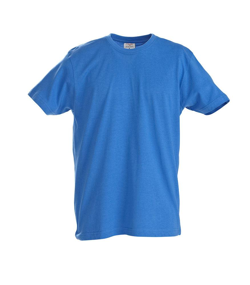 FS80035 - T-shirt Short Sleeves Heavy T Men OceaanBlauw