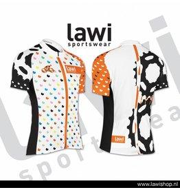 Elfmerentocht fietsshirt (kleurrijk design)